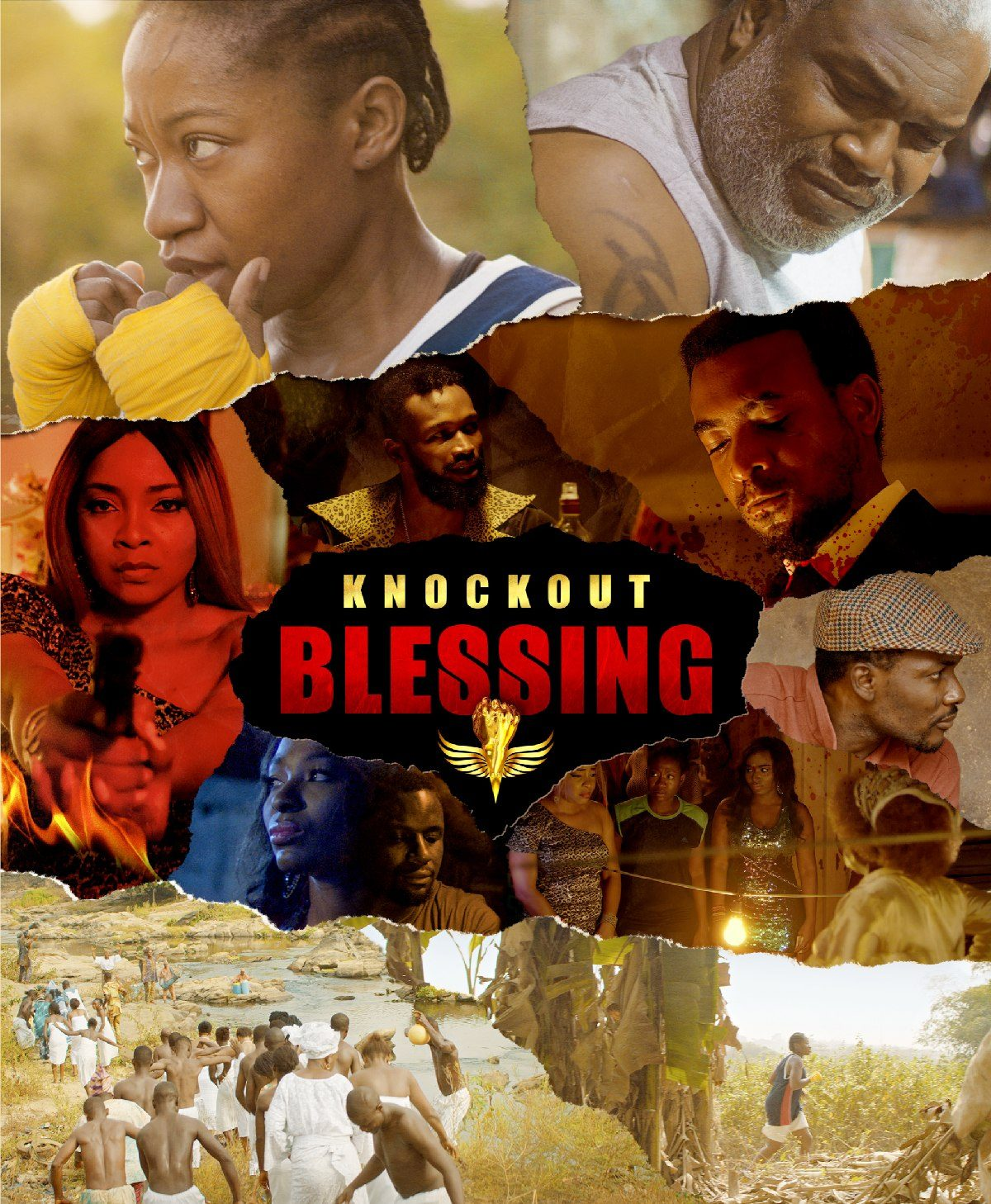 …Knockout Blessing…